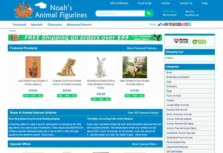 Noah's Animal Figurines