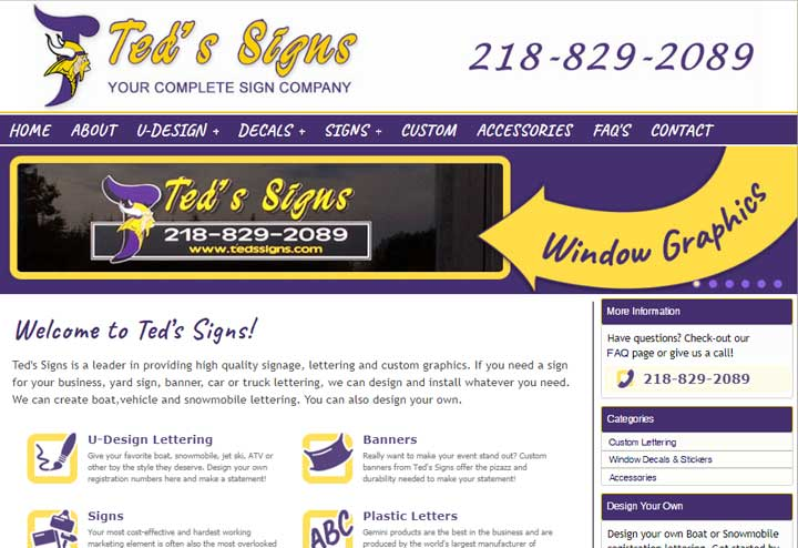 Ted's Signs
